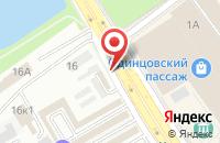 Схема проезда до компании Видеохауз в Одинцово