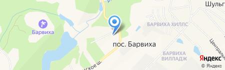 Почтовое отделение №143083 на карте Барвихи