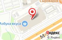 Схема проезда до компании СОНЭКС в Михалково