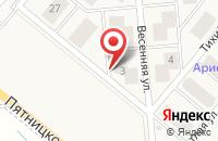 Схема проезда до компании Бест-Новострой в Михалково