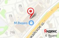 Схема проезда до компании Цветочный Эксклюзив в Одинцово