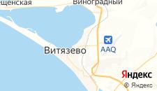 Гостиницы города Витязево на карте