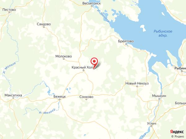 деревня Поповское на карте