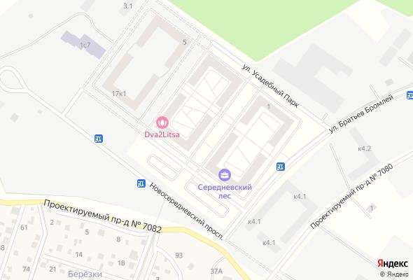 жилой комплекс Середневский лес