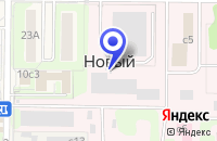 Схема проезда до компании ТФ МАЙТ ЛКМ в Красногорске