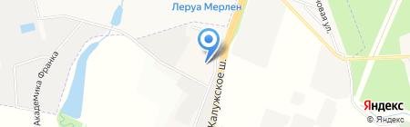 Центральный на карте Москвы
