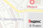 Схема проезда до компании Автостоянка в Красногорске