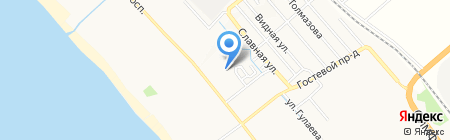 Олимпийская деревня на карте Анапы