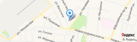 Автомастерская на ул. Ватутина на карте Химок