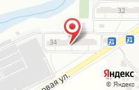 Схема проезда до компании Всегос в Одинцово