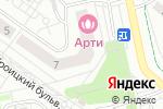Схема проезда до компании Кухня Сытый Слон в Троицке