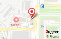 Схема проезда до компании Гильдия риэлторов Красногорского и Истринского районов в Красногорске