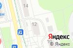 Схема проезда до компании Брасс-Аккорд в Москве