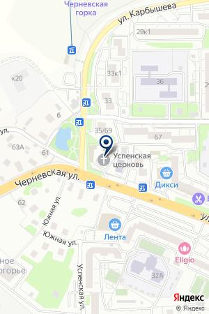 ХРАМ УСПЕНИЯ ПРЕСВЯТОЙ БОГОРОДИЦЫ на карте Красногорска