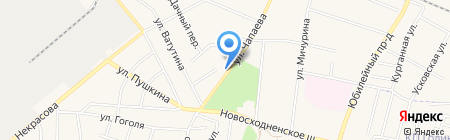 Ателье мебели на карте Химок