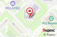 Схема проезда до компании Фрегат в Москве