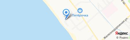 Морской бриз на карте Анапы