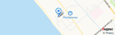 Курорт-Макс на карте Анапы