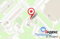 Схема проезда до компании Авиаград в Москве