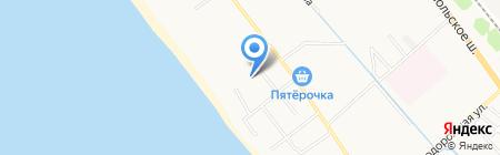 Отдых у моря на карте Анапы