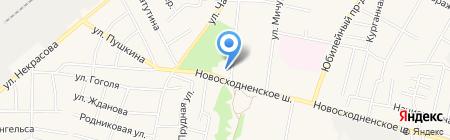 Савушка на карте Химок