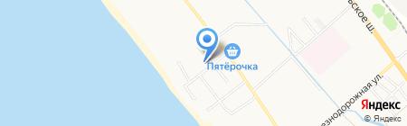Сибирь на карте Анапы