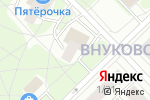 Схема проезда до компании Продуктовый магазин в Москве
