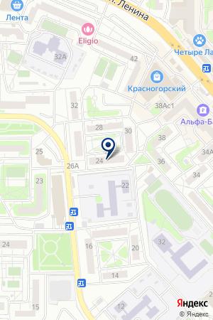 СТРОИТЕЛЬНАЯ КОМПАНИЯ ГЛУБИННИК на карте Красногорска
