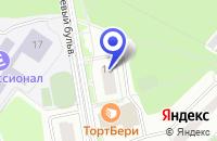 Схема проезда до компании УНИВЕРМАГ ДИОНА-Т в Троицке