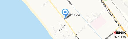 Евдокия на карте Анапы