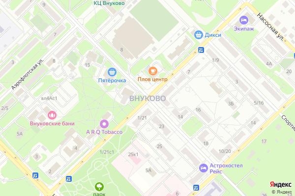 Ремонт телевизоров Район Внуково на яндекс карте