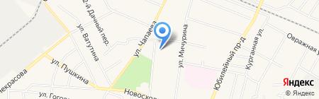 Гимназия №23 на карте Химок