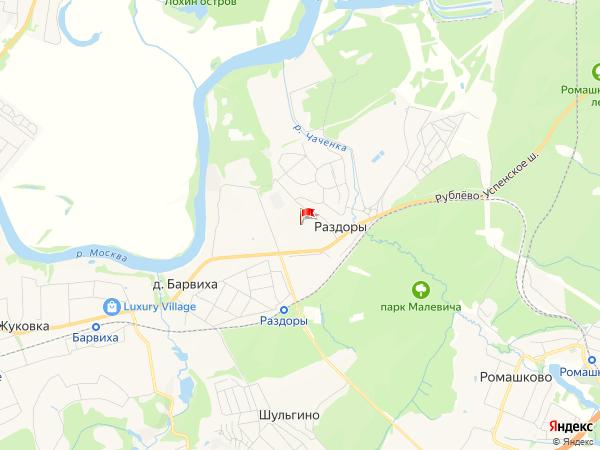 Карта населенный пункт Раздоры