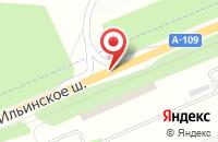 Схема проезда до компании СТРОЙИНЛОК в Архангельском