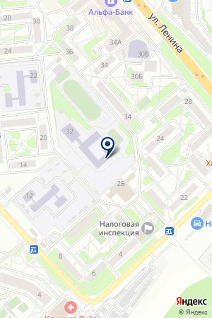 АВТОКАРТ на карте Красногорска