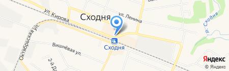 Платежный терминал Сбербанк России на карте Химок