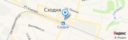 Тивик на карте Химок