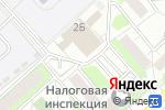 Схема проезда до компании Maxfitting в Красногорске
