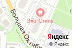 Схема проезда до компании 1001 запчасть в Москве