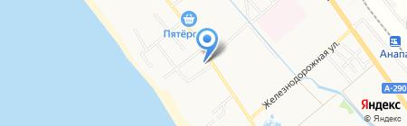 Уральские самоцветы на карте Анапы