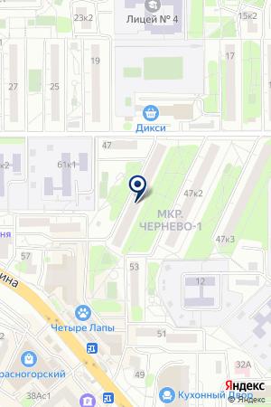 ПТФ ГЕДРА на карте Красногорска