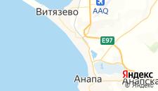 Гостиницы города Джемете на карте