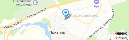 Мечты Екатерины на карте Москвы