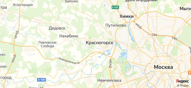 В Красногорске туристы также ищут: - объекты на карте