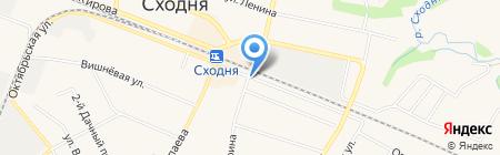 Автостоянка на Мичурина на карте Химок