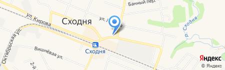 Часовня Матроны Московской в Сходне на карте Химок