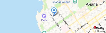 ДЮСШ №4 на карте Анапы