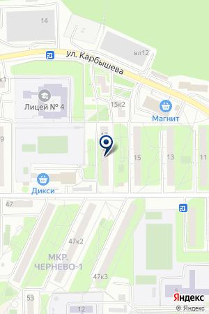 ПРОМТОВАРНЫЙ МАГАЗИН № 67 на карте Красногорска