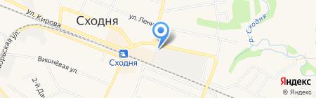 Шиномонтажная мастерская на Железнодорожной на карте Химок