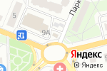 Схема проезда до компании CyberPlat в Троицке